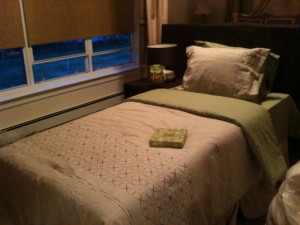 Twin bed created from NextStage